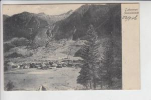 CH 3864 GUTTANNEN, Ortsansicht 1906