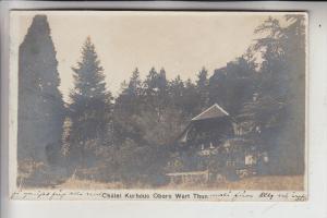 CH 3600 THUN, Chalet Kurhaus Obere Wart, 1909, min. Randmangel