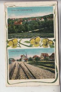 CH 9312 LÖMMENSCHWIL - Panorama, HÄGGENSCHWIL - Bahnhof