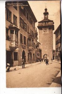 CH 8200 SCHAFFHAUSEN, Schwabentor, 1910