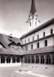 CH 8260 STEIN am Rhein, Kloster St. Georgen, Kreuzgang und Kirche