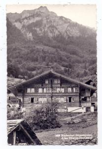 CH 3853 NIEDERRIED BE, Altes Oberländer Chalet