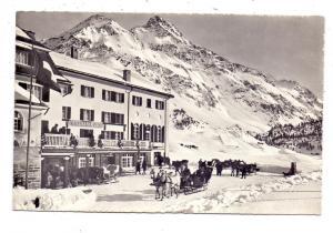 CH 7516 MALOJA GR, Hotel Majola-Kulm, Pferdeschlitten