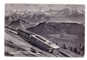 CH 6354 VITZNAU LU, Rigi Kulm, Zahnradbahn, 1964