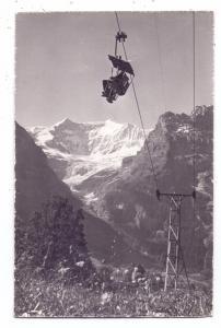 CH 3818 GRINDELWALD BE, Bergbahn Grindelwald - First, kl. Druckstelle