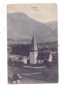 CH 3792 SAANEN BE, Kirche, 1905, Trenkler - Leipzig, kl. Druckstelle