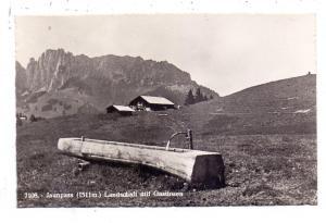 CH 3766 BOLTIGEN BE, Jaunpass, Landschaft mit Gastlosen