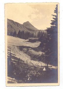 CH 3715 ADELBODEN - LENK BE, Am Hahnenmoospass, Regenbolshorn, 1917