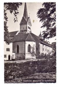 CH 8200 SCHAFFHAUSEN SH, Münsterturm und Stadtbibliothek, 1955