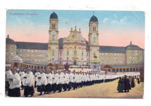 CH 8840 EINSIEDELN SZ, Procession, 1914, kl. Druckstelle