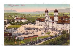 CH 8840 EINSIEDELN SZ, Kloster, Prozession, Photoglob, 1912