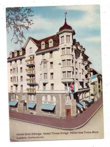 CH 6000 LUZERN LU, Hotel Drei Könige