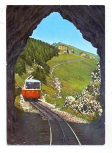 CH 6825 CAPOLAGO TI, Monte Generoso Bahn, Zahnradbahn