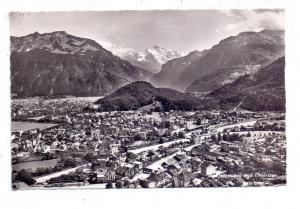 CH 3800 INTERLAKEN BE, Interlaken und Unterseen, 1952