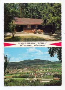 CH 3110 MÜNSINGEN BE, 50 Jahre Pfadfinderabteilung Chunze-Münsingen, 1926-1976, Pfadfinderheim