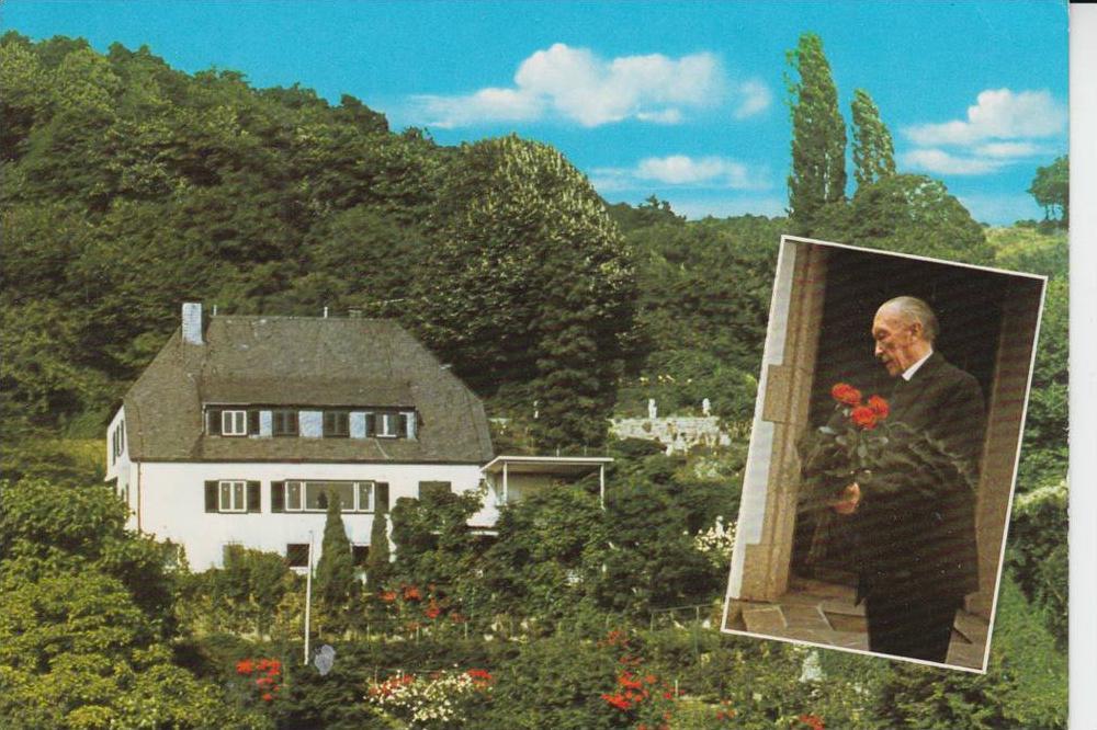 POLITIK - Wohnhaus Konrad Adenauer - Bad Honnef 0