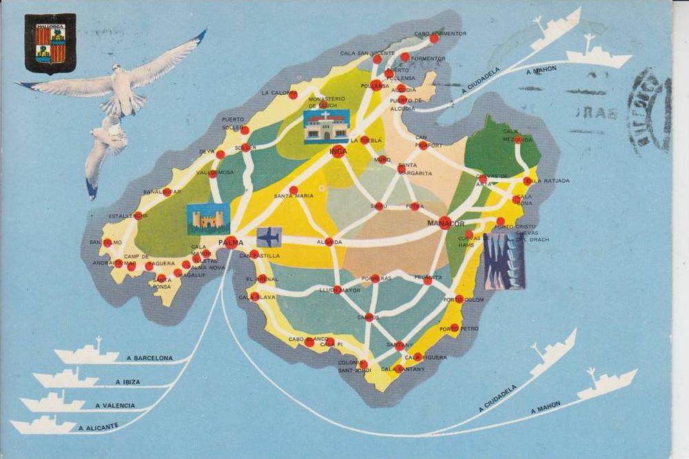 LANDKARTEN - MAPS - MALLORCA 0