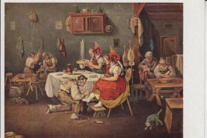 BERUFE - SCHUSTER - shoemaker - Cordonnier - Schoenmaker - Zapatero - Calzolaio - Künstler-Karte J.B.Pflug