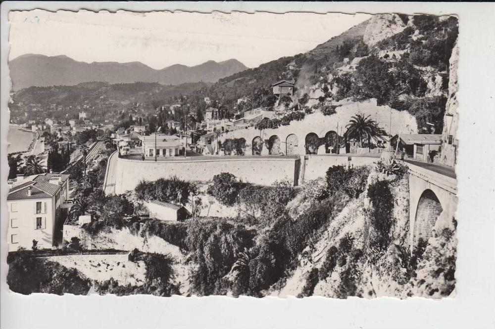 GRENZE - FRONTIER, MENTON - ITALIA 1957 0