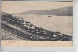 ISLAND, AKUREYRI, early card - undivided back