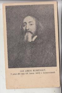 BERÜHMTE PERSONEN, JAN AMOS KOMENSKY, Philosoph, Theologe , Pädagoge, 1592 - 1670