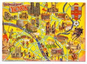 LANDKARTEN / MAPS - YORK