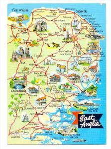 LANDKARTEN / MAPS - EAST ANGLIA