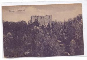 EESTI / ESTLAND - DORPAT / TARTU, Domruine, 1918, deutsche Feldpost