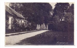 EESTI / ESTLAND - ARENSBURG / KURESSAARE, Eingang am Schloss, Photo-AK