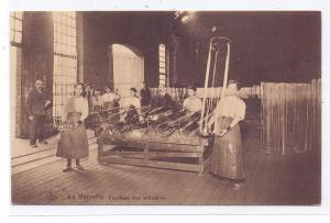 BERUFE - GLAS, Fendage des cylindres, La Verrerie