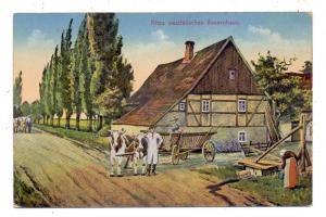 LANDWIRTSCHAFT - Altes westfälisches Bauernhaus