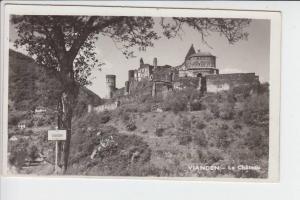 L 9400 VIANDEN - Le Chateau 1951, Briefmarke fehlt