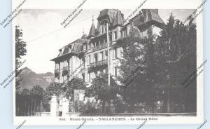 F 74700 SALLANCHES, Le Grand Hotel