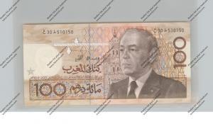 BANKNOTE - MAROC, Pick 65c, 100 Dirhams, 1987, UNC.