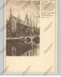 BRIEFKAART 1937, LEIDEN