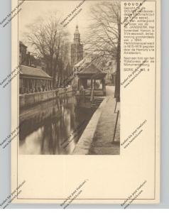 BRIEFKAART 1937, GOUDA
