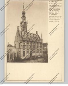 BRIEFKAART 1937, VEERE