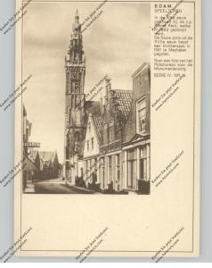BRIEFKAART 1937, EDAM