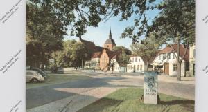 2448 BURG auf Fehmarn, ESSO-Tankstelle, VW-Käfer