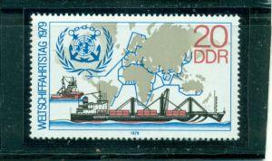Weltschiffahrtstag Nr. 2405 postfrisch **, PF I, geprüft BPP