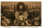 Foto-AK Potsdam-Sanssouci - Aufbahrung der Kaiserin im Antikentempel mit Ehrenwache (Reprint einer alten AK als Postkarte)