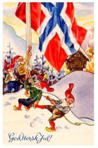 Frohe Weihnachten Norwegisch.Norwegisch Frohe Weihnachten
