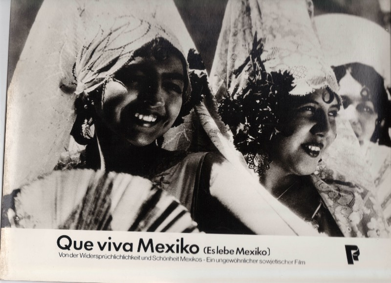 DDR DEFA Kino Aushangfotos Progress Filmverleih Que viva Mexiko P8