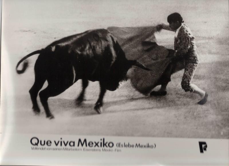 DDR DEFA Kino Aushangfotos Progress Filmverleih Que viva Mexiko P5