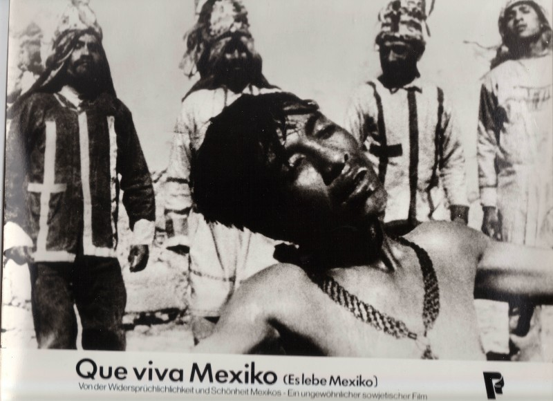 DDR DEFA Kino Aushangfotos Progress Filmverleih Que viva Mexiko P4