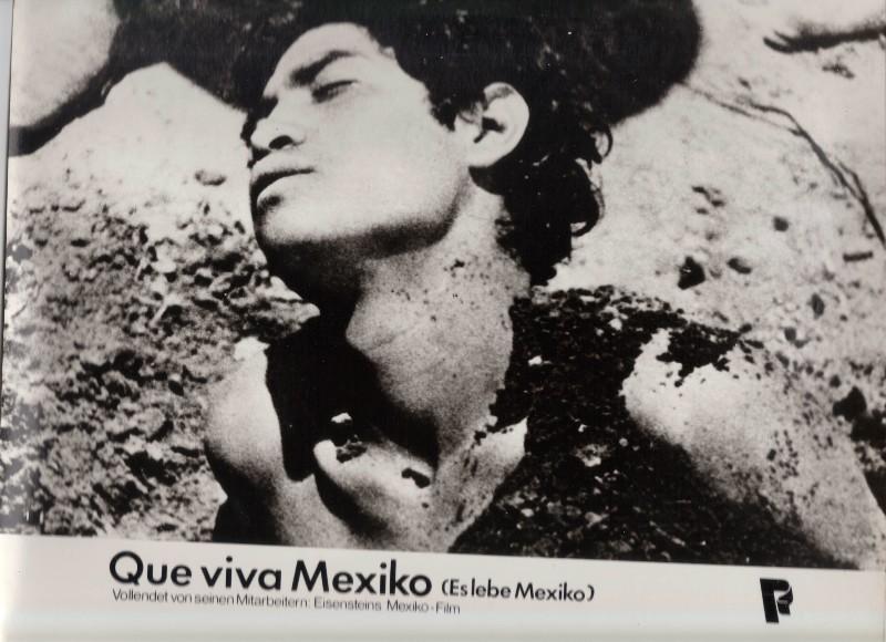 DDR DEFA Kino Aushangfotos Progress Filmverleih Que viva Mexiko P2