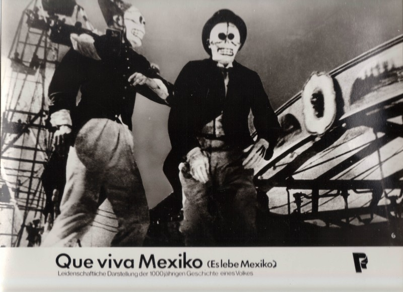 DDR DEFA Kino Aushangfotos Progress Filmverleih Que viva Mexiko P1