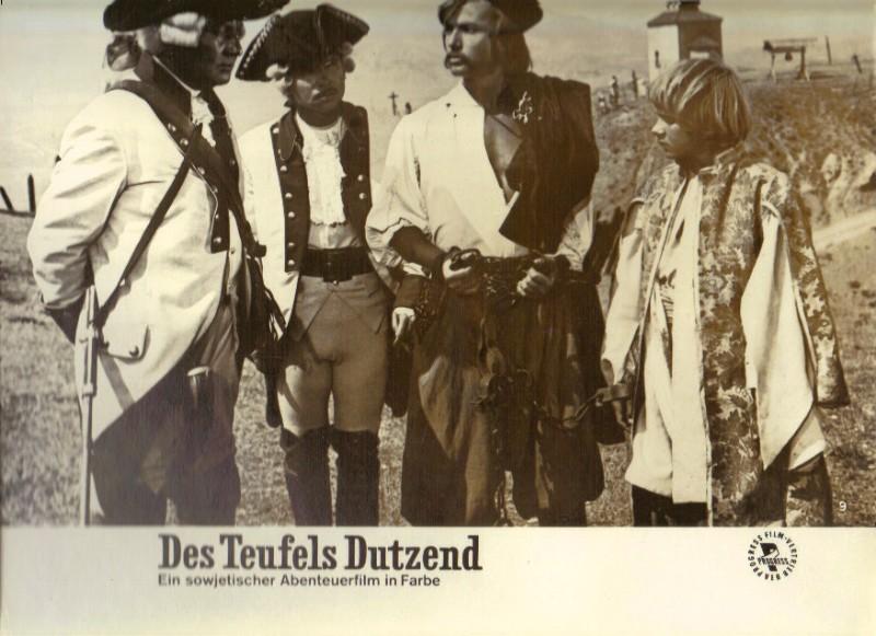 DDR DEFA Kino Aushangfotos Progress Filmverleih Des Teufels Dutzend P21