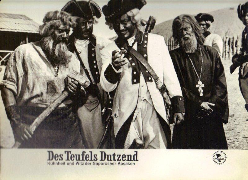 DDR DEFA Kino Aushangfotos Progress Filmverleih Des Teufels Dutzend P22
