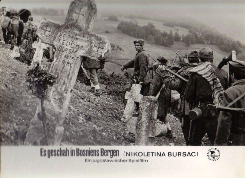 DDR DEFA Kino Aushangfotos Progress Filmverleih Es geschah in Bosniens Bergen P28